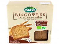 BORSA Biscottes à la farine complète 300g BIO