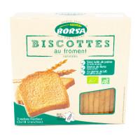 BORSA Biscottes au froment 300g BIO