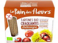 PAIN DES FLEURS Tartines craquantes châtaignes 150g