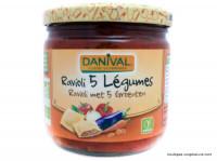 DANIVAL Raviolis aux 5 légumes 360g
