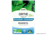 BIOTECHNIE Ortie cheveux, peau, ongle & os 20 ampoules