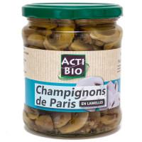 ACTIBIO Champignons de Paris en lamelles 330g