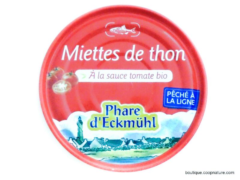 PHARE D'ECKMÜHL Miettes de thon à la sauce tomate 160g
