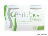 K PHILUS Desserts au lait maigre 2x125g