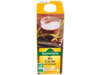 BONNETERRE Boisson de riz au calcium, saveur cacao 1L