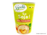 SOJADE Dessert So Soja ! Pêche fleur de sureau 400g