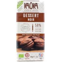 KAOKA Chocolat noir 55% pour desserts 200g