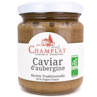 Caviar d'Aubergine Bio 200g