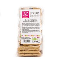 Biscuits Nature et Bienfaits Blé aux Raisins - 250g