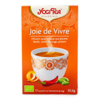 Yogi Tea - Infusion Ayurvédique Joie de Vivre - 17 sachets Bio