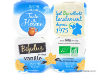 TANTE HÉLÈNE Bifidus vanille 4x125g