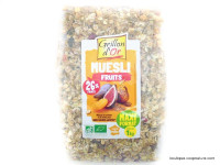 GRILLON D'OR Mûesli aux fruits 1kg