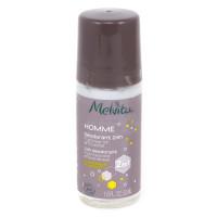 Melvita - Déodorant bille homme 24h Huile de baobab et eau de citron 50ml - Bio