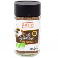 Café lyophilisé Arabica 100g Bio