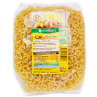 BONNETERRE Coquillettes blanches 500g