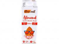 ECOMIL Boisson à l'amande sans sucres ajoutés 1L