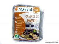 MARKAL Graines de pavot 250g