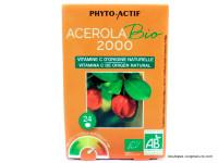 PHYTO-ACTIF Acerola 2000 par 24 comprimés