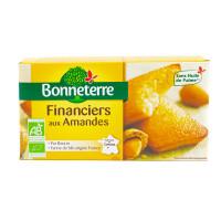 BONNETERRE Financiers pur beurre aux amandes 150g - Bio