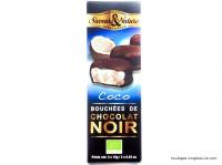 SAVEUR&NATURE Bouchées chocolat noir 3x15g