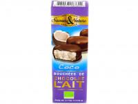 SAVEUR&NATURE Bouchées chocolat au lait coco 3x15g