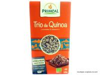 PRIMEAL Trio de quinoa blanc rouge noir 500g