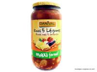 DANIVAL Raviolis aux 5 légumes 1kg