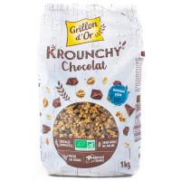 Grillon d'Or - Céréales déjeuner Krounchy chocolat 1kg - Bio