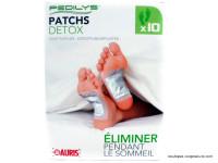 AURIS Patchs detox paquet de 10
