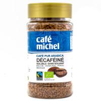 Café Michel - Café Instantané soluble décaféiné 100g - Bio