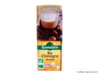 BONNETERRE Boisson de riz, châtaigne, avoine 1L