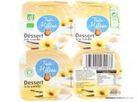 TANTE HÉLÈNE Desserts vanille 4x115g