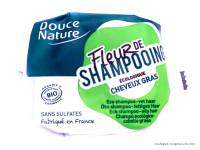 DOUCE NATURE Fleur de shampooing cheveux gras 85g