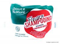 DOUCE NATURE Fleur de shampooing cheveux secs 85g