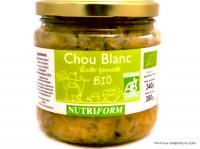 NUTRIFORM Chou blanc lacto-fermenté 380g
