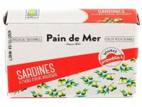 PAIN DE MER Sardines à l'huile d'olive 120g