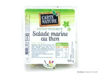 CARTE NATURE Salade marine au thon 160g