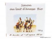 LA SAVONNIÈRE Savon lait d'anesse & argan 150g