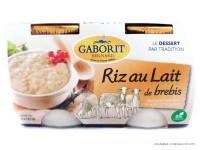 GABORIT Riz au lait de brebis 2x125g