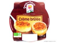 GRANDEUR NATURE Crème brûlée 130g