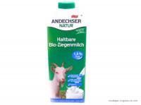 Lait de chèvre 1,5%mg stérilisé U.H.T Bio 1L