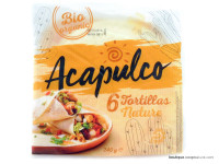 ACAPULCO Tortillas natures 240g