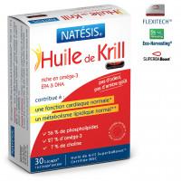 Huile de krill EPA et DHA - 30 licaps