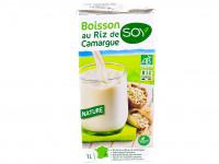 SOY Boisson au riz de Camargue nature 1L
