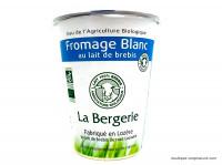 LA BERGERIE Fromage blanc au lait de brebis 400g