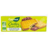 Biscuits Goûters Fourrés au Chocolat au Lait - 225g