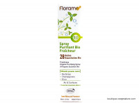 FLORAME Spray purifiant fraîcheur Bio 180ml