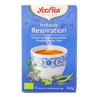 Yogi Tea - Infusion Ayurvédique Profonde Respiration 17 sachets - Bio