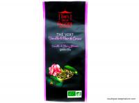 THÉS DE LA PAGODE  Thé vert vanille fleur de cerisier 100g