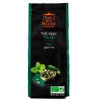 Thés de la Pagode - Thé vert Gunpowder à la menthe 100g - Bio